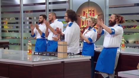 Chefi la Cuțite. Amalia Bellantoni vrea să schimbe logo-ul echipei albastre