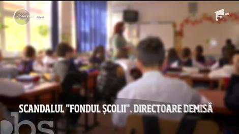 10 mii de euro la fondul şcolii, într-un liceu din Constanța. Eleva care a făcut tabelul public a reușit să o demită pe directoare