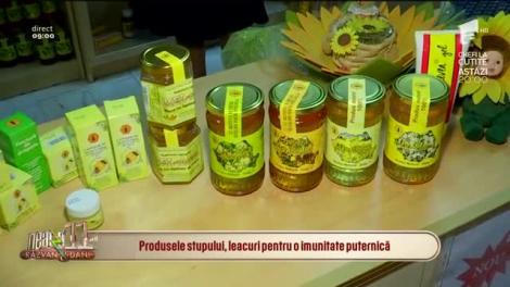 Neatza cu Răzvan și Dani. Beneficiile produselor apicole în sezonul rece