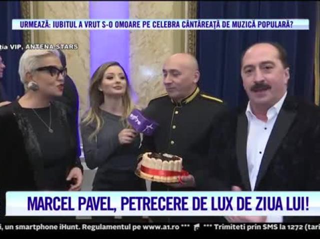 """Marcel Pavel, petrecere de lux la împlinirea a 60 de ani. Fiul lui, mesaj emoționant: """"Te iubesc, tata!"""""""
