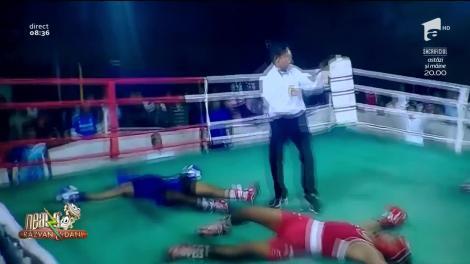 Smiley News - Neatza cu Răzvan și Dani. Meci de box inedit. Cei doi sportivi sunt făcuți Knockout