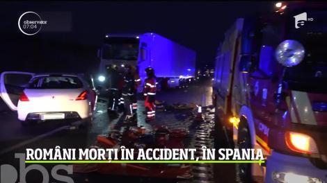 Accident tragic în Spania! Doi români, tată şi fiu, au murit după ce două maşini s-au ciocnit violent pe o şosea din estul peninsulei