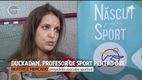 Helmuth Duckadam, profesor de sport pentru o zi