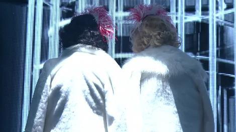 """Te cunosc de undeva! Liviu Vârciu și Andrei Ștefănescu se transformă în Marilyn Monroe & Jane Russell - """"Two little girls from little rock"""""""
