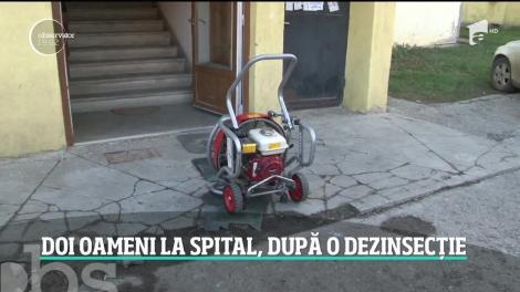 Doi soţi din Suceava au ajuns la spital după o dezinsecţie