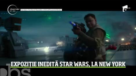 O expoziţie interactivă dedicată fanilor Star Wars şi-a deschis porţile la New York