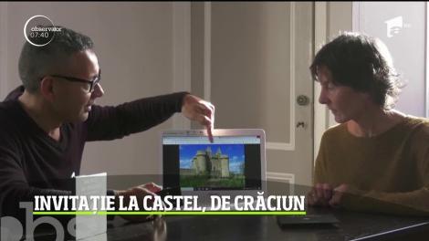 Toţi cei care au contribuit financiar la recondiţionarea unui castel din secolul al XII-lea din Franţa, invitaţi să petreacă sărbătorile în edificiu