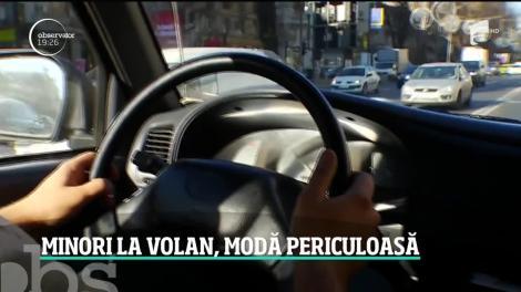 Tot mai mulţi tineri urcă la volan fără permis