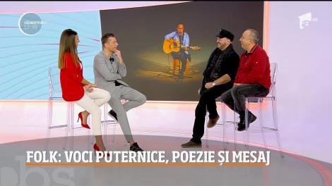 Artiștii care au făcut istorie în muzica românească vor susține un spectacol de folk la, Sala Palatului