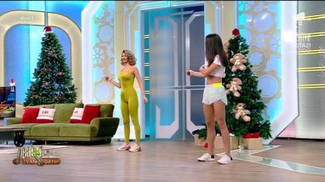 Fitness cu Diana Stejereanu, la Neatza cu Răzvan și Dani. Cum să sări coarda corect