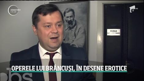 Scandal uriaş după ce mai multe desene obscene în care apar operele lui Constantin Brâncuşi s-au răspândit pe internet. Controversatul pictor este chiar profesor la Universitatea de Arte din Bucureşti