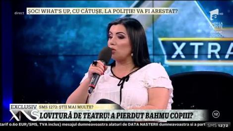 Xtra Night Show. Mesajul Adrianei Bahmuţeanu pentru copiii ei: Duceți-vă la tăticul vostru, acolo este mult mai bine. Ne vedem când doriți voi
