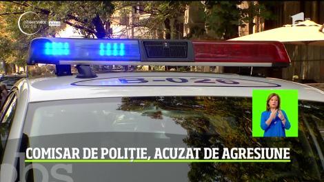 Comisar de poliție din Capitală, acuzat de violență în familie
