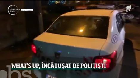 Cântăreţul What's Up a ajuns încătuşat la Poliţie. I-a atacat pe agenţii chemaţi să intervină într-un scandal cu iubita lui