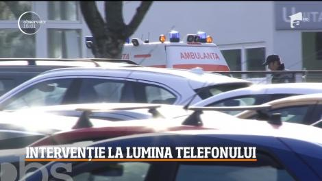 """Se întâmplă în România secolului XXI! Un medic a efectuat o intervenţie chirurgicală la lumina telefonului mobil! """"M-a jignit"""""""