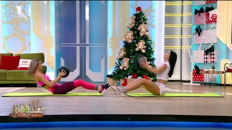 Fitness cu Diana Stejereanu, la Neatza cu Răzvan și Dani. Antrenament full body