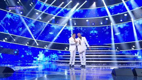 Te cunosc de undeva! Liviu Vârciu și Andrei Ștefănescu cântă colinde de Crăciun