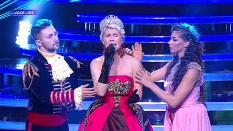 Te cunosc de undeva! Diana Matei se transformă în rusoaica Anastasia - Once upon a December