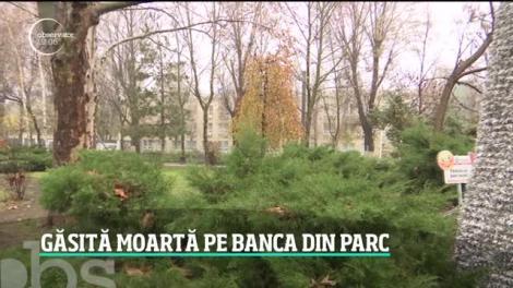 O tânără de 31 de ani a fost găsita moartă pe o bancă din Parcul Păcii din București