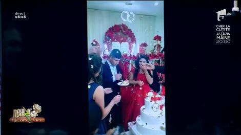 Smiley News - Neatza cu Răzvan și Dani. Nervi în ziua nunții. Ce a făcut mirele când a trebuit să taie tortul