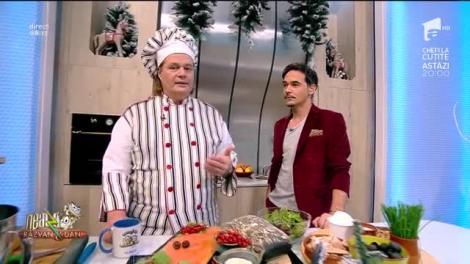 Rețeta Zilei - Neatza cu Răzvan şi Dani. Gustărici cu pipici, o gustare excelentă pentru masa de Crăciun