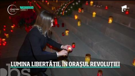 Lumina libertății, în orașul revoluției