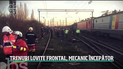 Cel mai grav accident pe calea ferată din ultimele două decenii are un erou: mecanicul trenului de călători!