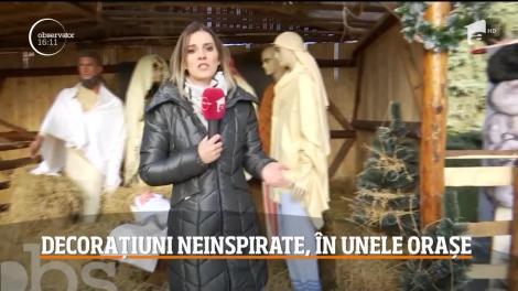 Timişorenii au rămas mască în clipa în care au constatat că Scena Naşterii lui Iisus a fost realizată cu ajutorul unor manechine de haine. Ce alte decoraţiuni neinspirate au mai achiziţionat edilii din România