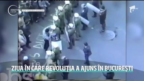 Marturii de la Revolutie. Ziua în care revoluția a ajuns în București