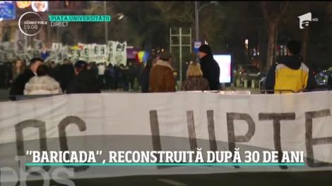 Mărturii de la Revoluție. Baricada de la Intercontinental, reconstruită după 30 de ani