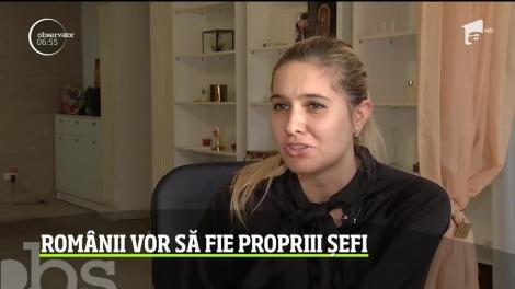 Românii vor să fie propriii șefi