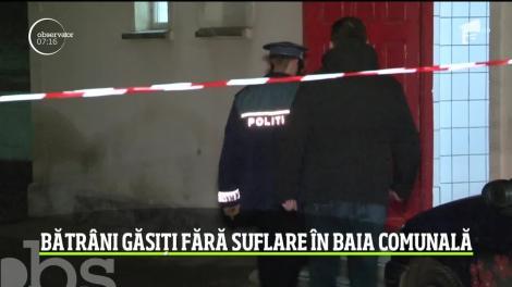 Moarte suspectă în localitatea Siret din Suceava.  Doi bătrâni au fost găsiţi morţi în baia din sauna publică a oraşului