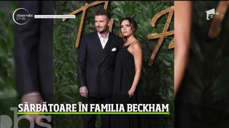Sărbătoare în familia Beckham! Doi dintre copiii celebrului cuplu au fost botezaţi