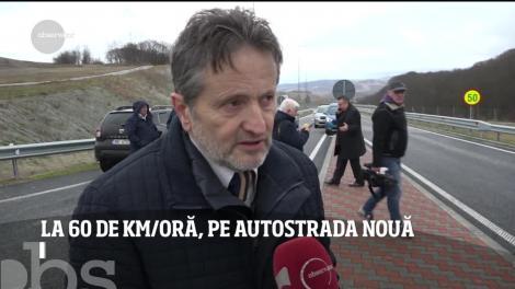 România se laudă astăzi cu un ciot de autostradă! Se circulă, în sfârşit, pe lotul trei Lugoj-Deva!