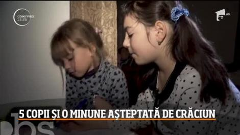 Campania Ajut eu: Cinci copii și o minune Crăciun
