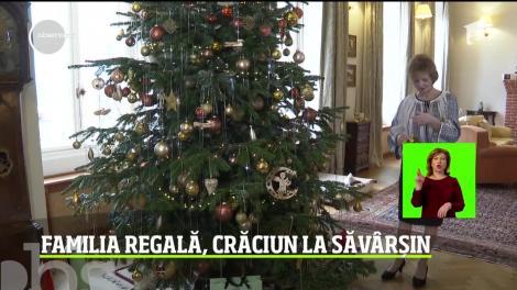 Familia regală, Crăciun la Săvârşin