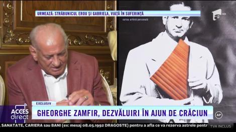 """Momentul care l-a făcut pe Gheorghe Zamfir să-și dorească să fie pe scenă: """"Aveam cinci ani când am simțit că muzica s-a cimentat în mine!"""""""