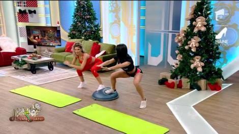 Fitness cu Diana Stejereanu, la Neatza cu Răzvan și Dani. Cum dai jos cârnații, piftia, sarmale și cozonacul