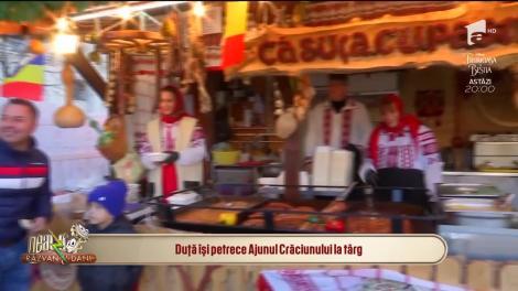 Florentin Petre, în vizită la Târgul de Crăciun