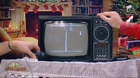 Neatza cu Răzvan și Dani. Cum arată strămoșul PlayStation-ului. InstaMoșul Dani: Acest televizor îl aveam în bucătărie