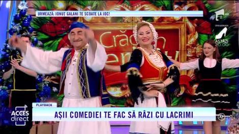 Acces Direct. Vasile Muraru şi Valentina Fătu, lăutarii care te fac să râzi cu lacrimi