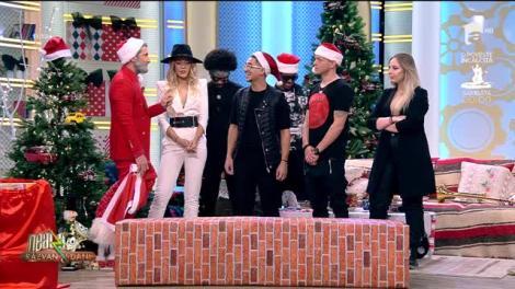 Neatza cu Răzvan și Dani - refacerea traseului lui Moș Crăciun. Trupa Mandinga, provocare de Crăciun