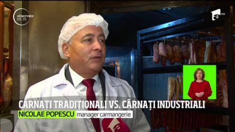 Cârnați tradiționali vs. cârnați industriali