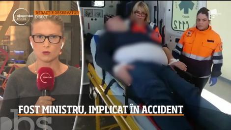 Fostul ministru al economiei Daniel Chiţoiu a fost implicat într-un grav accident rutier, în zona Dealul Negru din Argeş. Doi oameni şi-au pierdut viaţa