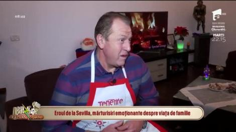 """""""Eram rușinos"""". Helmuth Duckadam, mărturisiri emoționante despre Crăciunul pe are vrea să îl uite! Ce a gătit anul acesta pentru familie"""