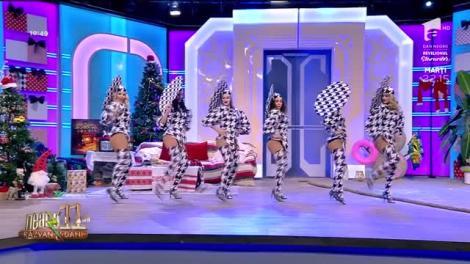 Neatza cu Răzvan și Dani. Trupa Vogue, super dans în a doua zi de Crăciun