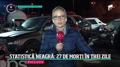 Crăciun însângerat pe şoselele din România. 27 de oameni au murit