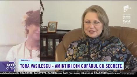Actrița Tora Vasilescu, interviu despre viața de artist, despre succes și suferință