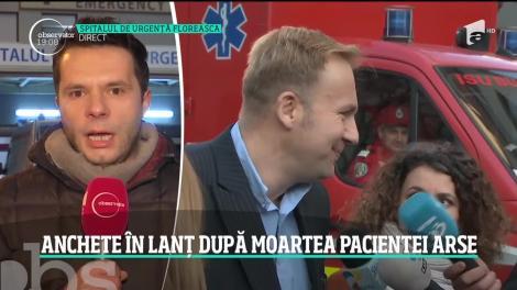 Pacienta arsă pe masa de operaţii de la Spitalul Floreasca a murit. Cazul şocant face înconjurul Europei