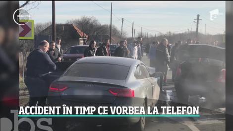 Fostul ministru, Daniel Chiţoiu, vorbea la telefon  în momentul în care a produs accidentul din Argeş